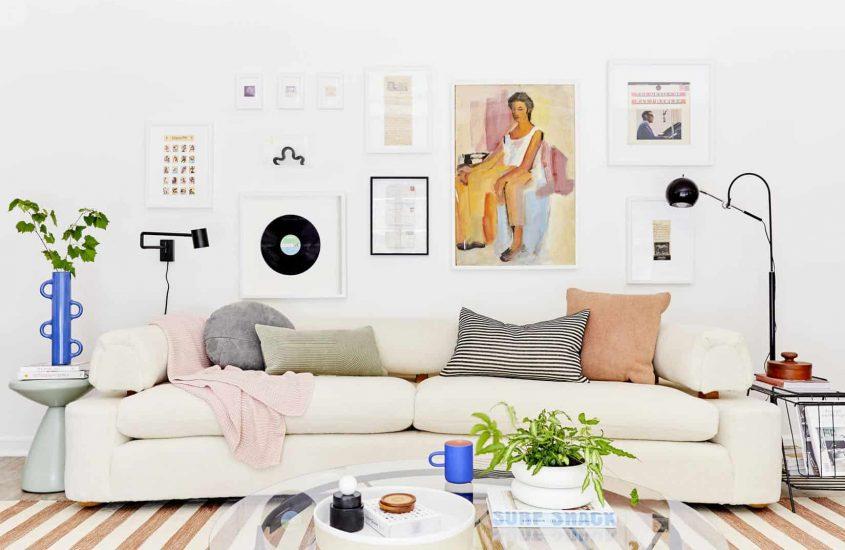 Wie man eine Galeriewand tatsächlich herstellt